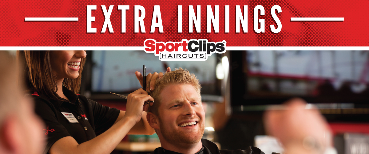 The Sport Clips Haircuts of Chanhassen  Extra Innings Offerings